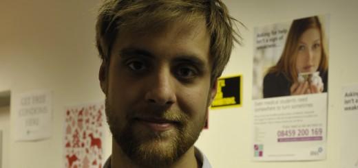 St George's, University of London student Luke