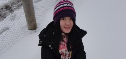 INTO University of East Anglia student Erica