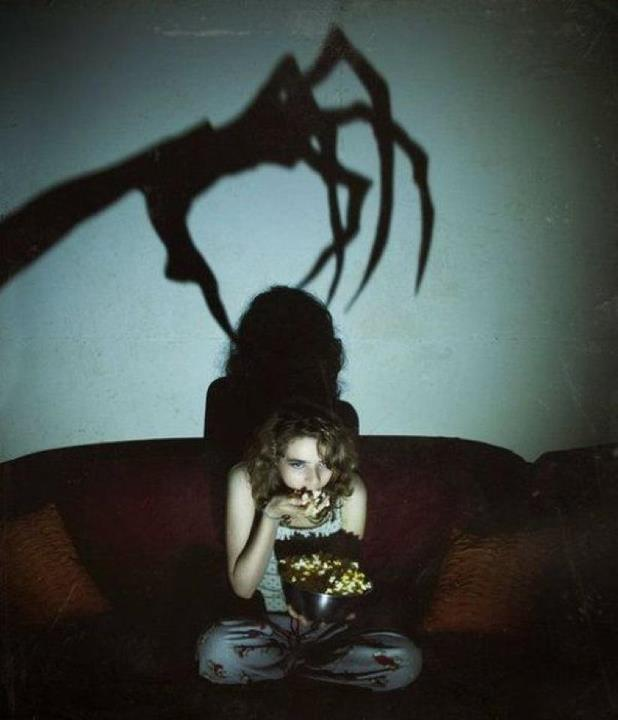 scary movie are you sitting comfortably good do you have popcorn excellent have you switched the lights off perfect - Top 10 Scary Halloween Movies
