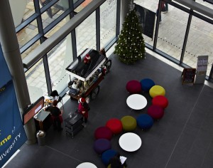 INTO Newcastle University Christmas