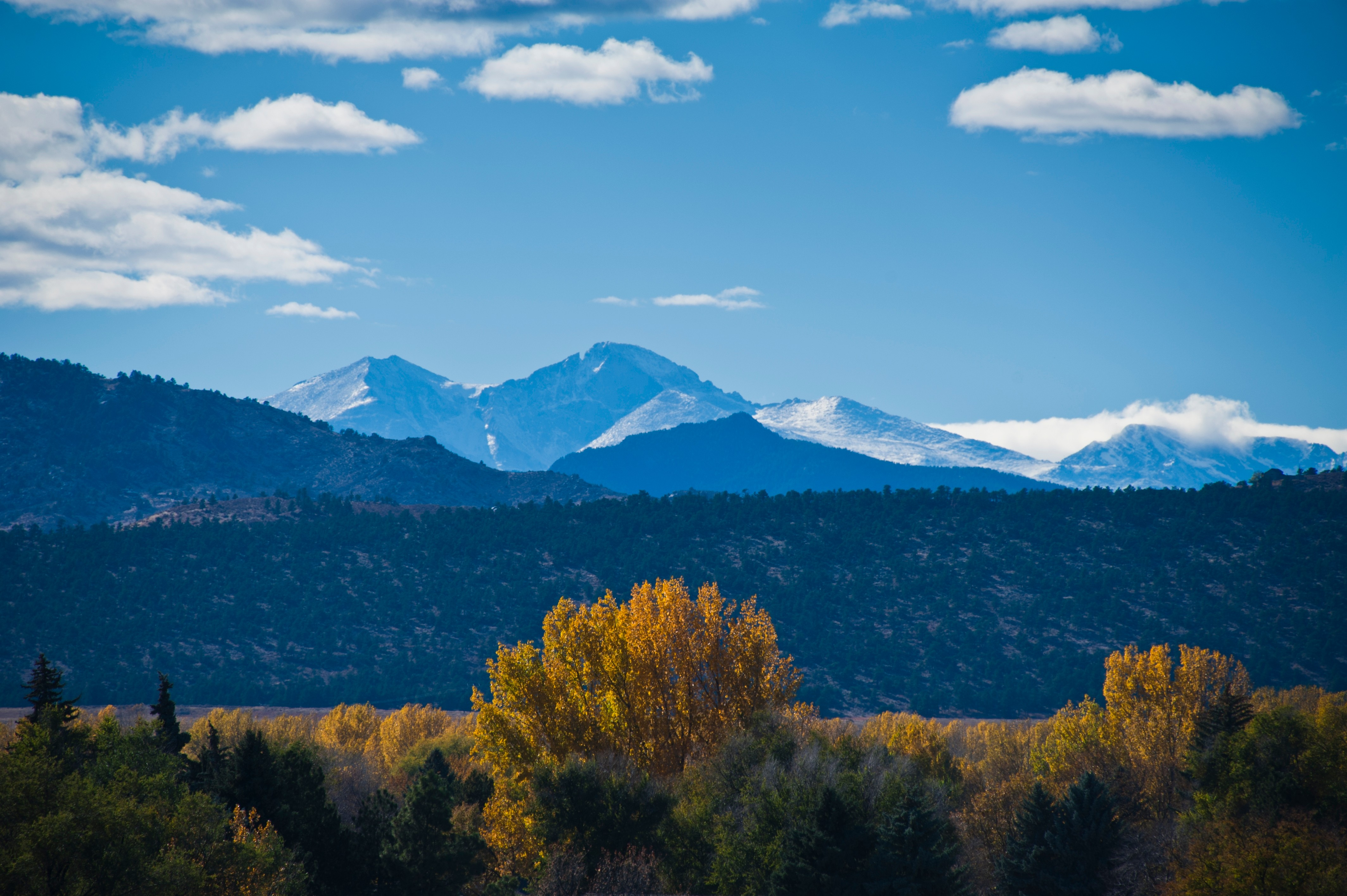 Fort Collins mountains