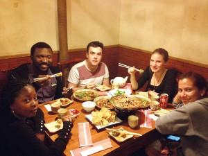 international students' feast