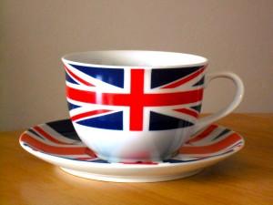 Union Jack tea cup