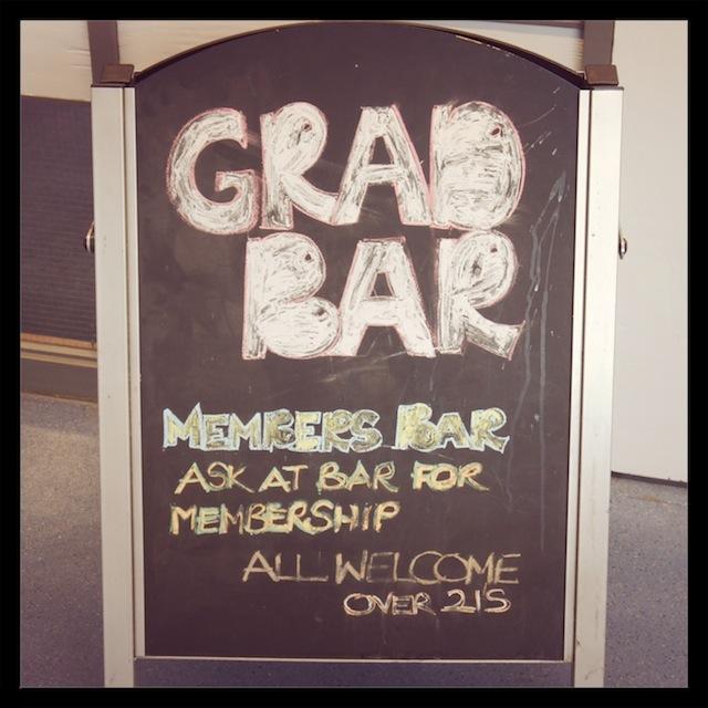 UEA Graduate bar