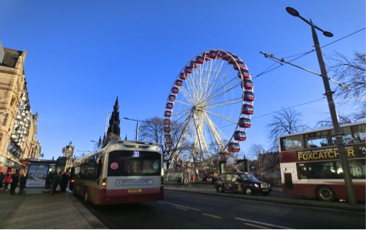 Big wheel in Scotland