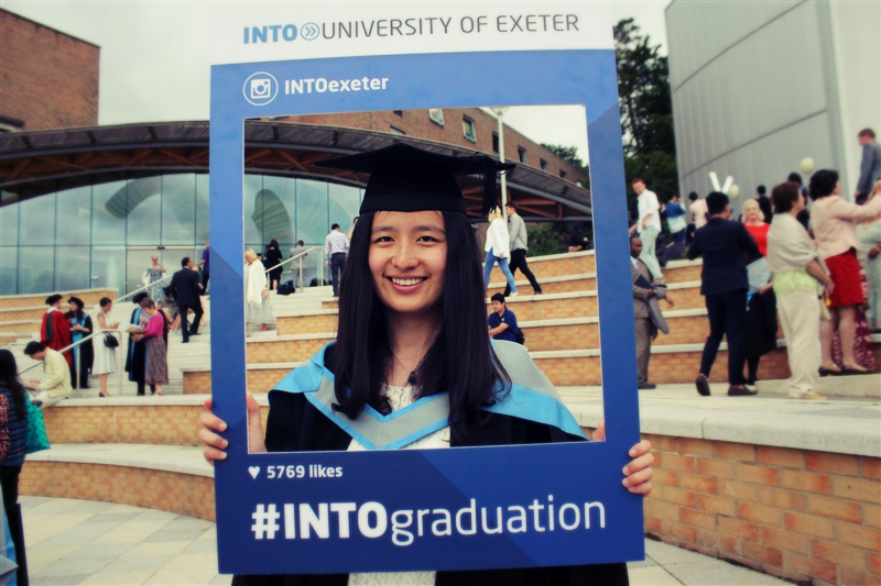 Meimei Wang, 2015 Graduate from Exeter University | INTO Higher