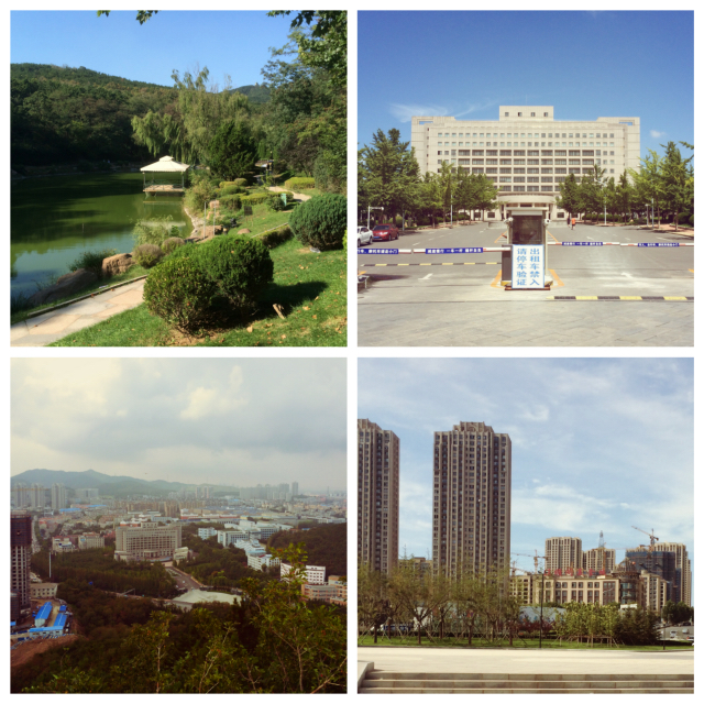 Collage of Dalian