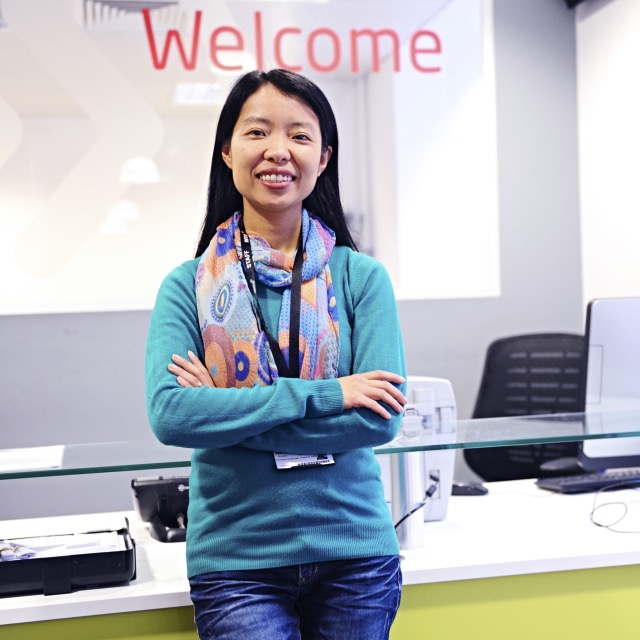 Grace, INTO Manchester's Regional Language Officer