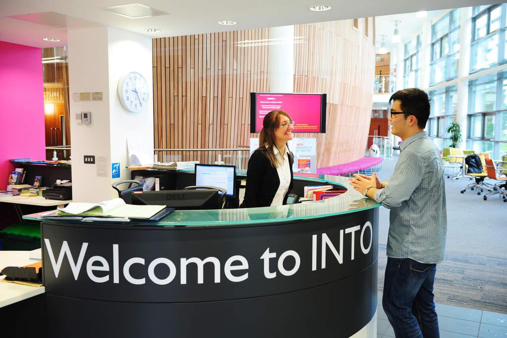 INTO Centre Welcome Desk