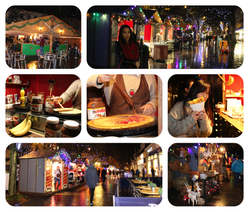 Pearla at Cheltenham Christmas Market