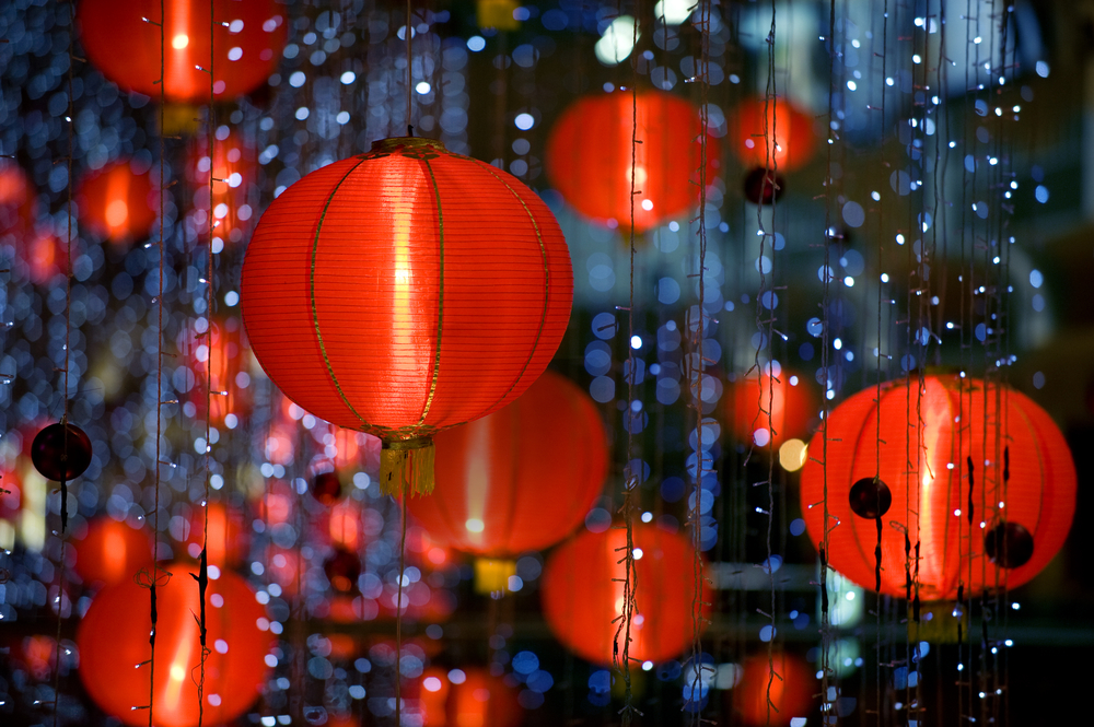 20/50/100 Paper Chinese Lanterns Sky Fly Candle Lamp for ...  |Chinese Lanterns
