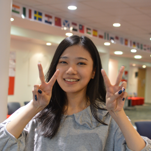 Chieh-Han Kao from Taiwan - INTO GCU student