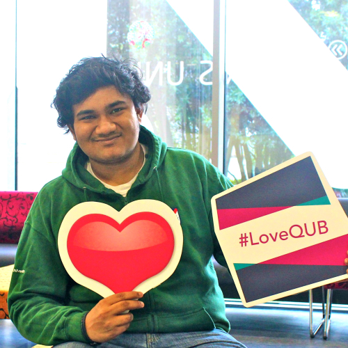 Ahmed Safkatul Alam from Bangladesh loves studying in the UK- INTO Queen's student