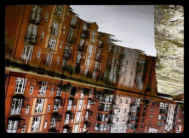 My amazing Manchester: Manchester Canals reflection
