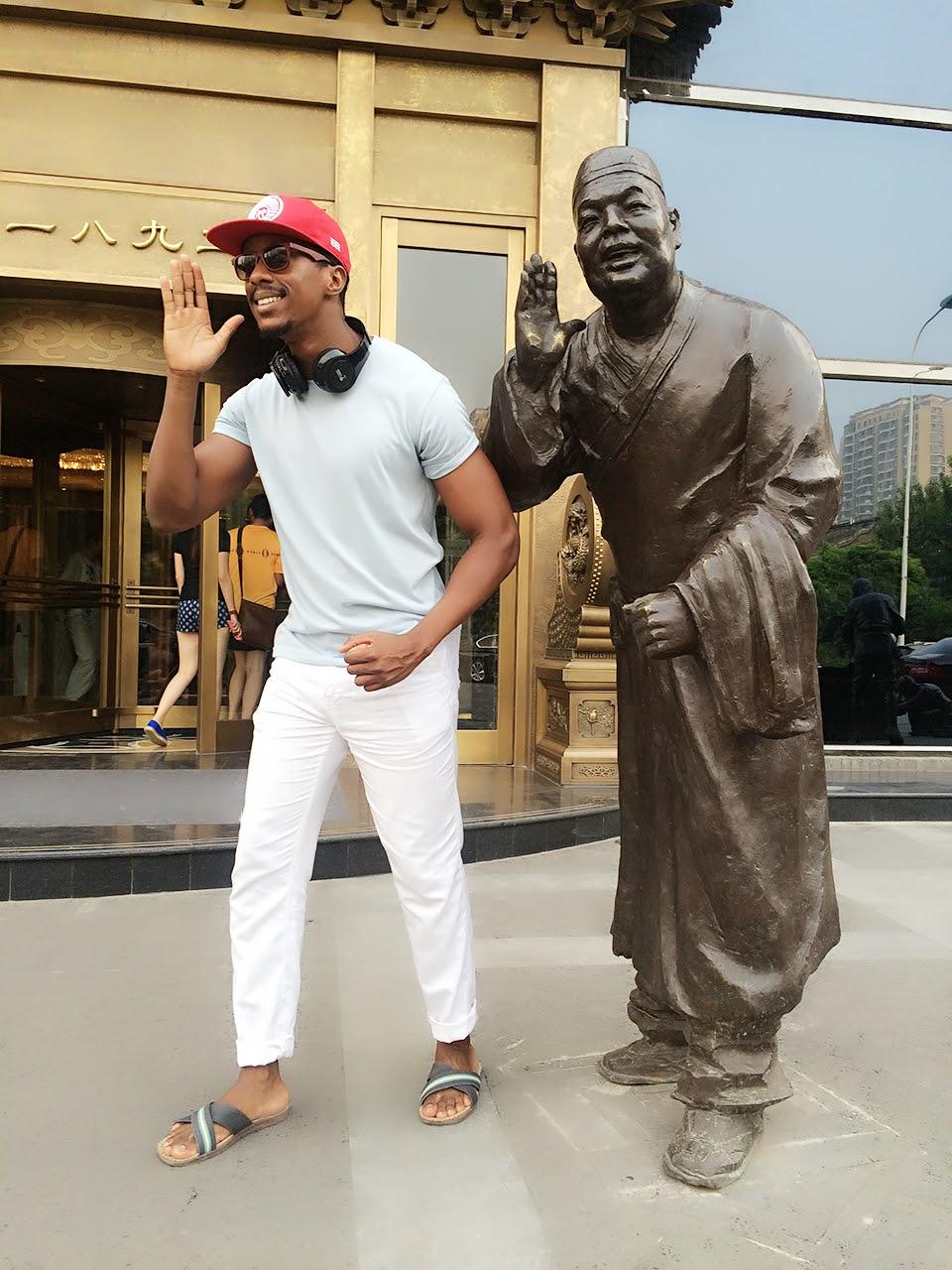 Jay in China