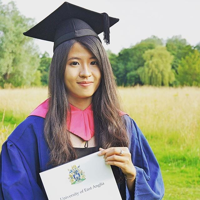 Erika Chao at Graduation