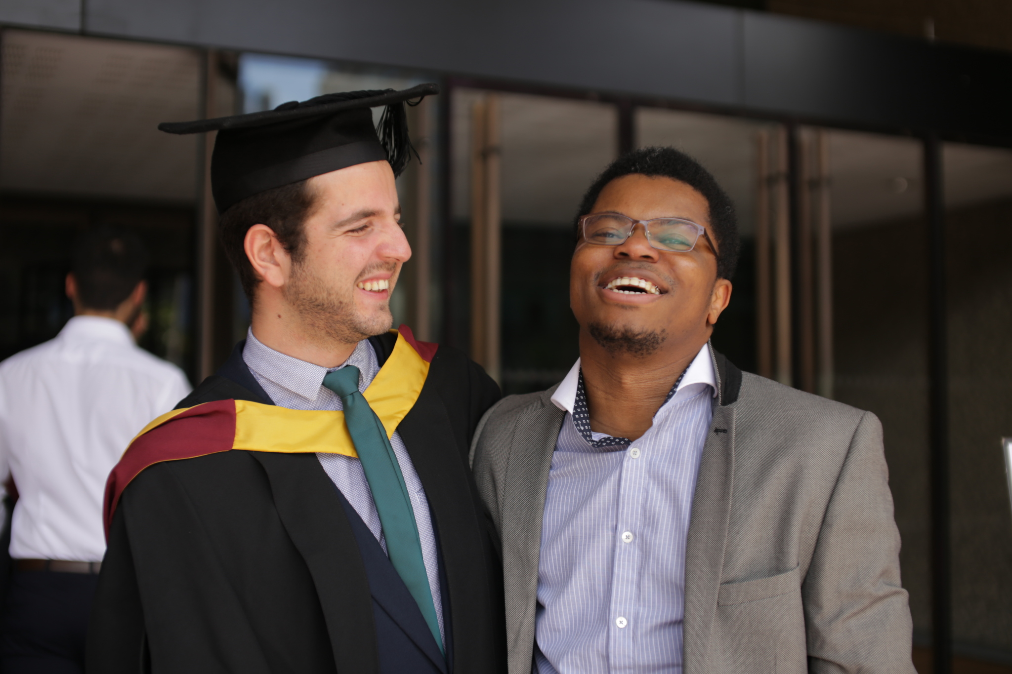 Mohamed Mehdi Mezhoud from Tunisia at his Graduation