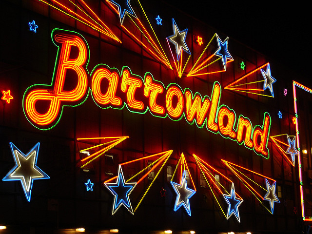 music venues in Glasgow - The Barrowland Ballroom