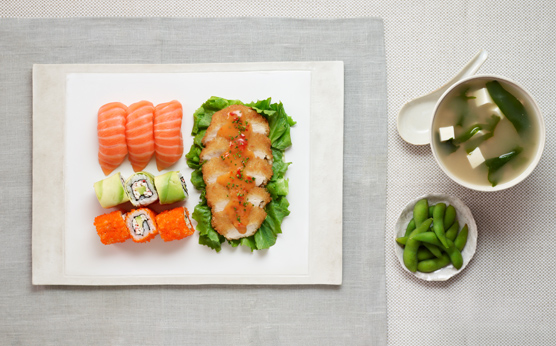 Cheap Places to Eat in London: Wasabi