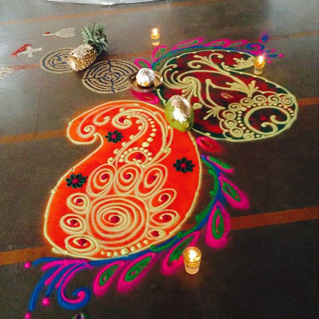 @rangoli_art_and_craft Diwali tradition