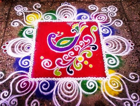 @design_rangoli Diwali tradition
