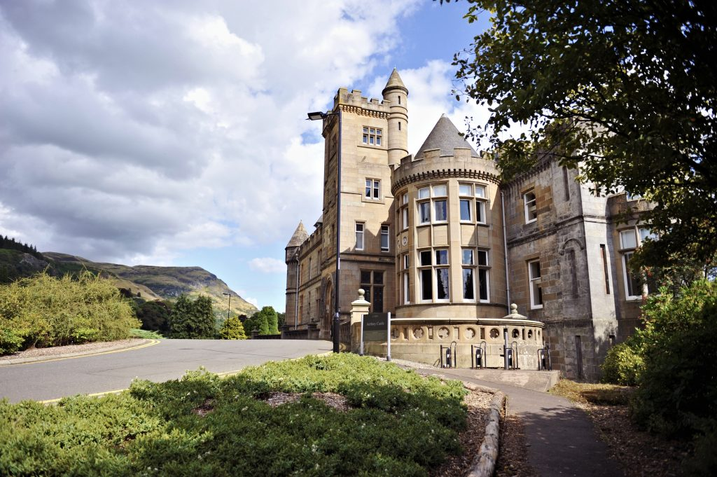 Uni of Stirling - the famous Airthrey Castle