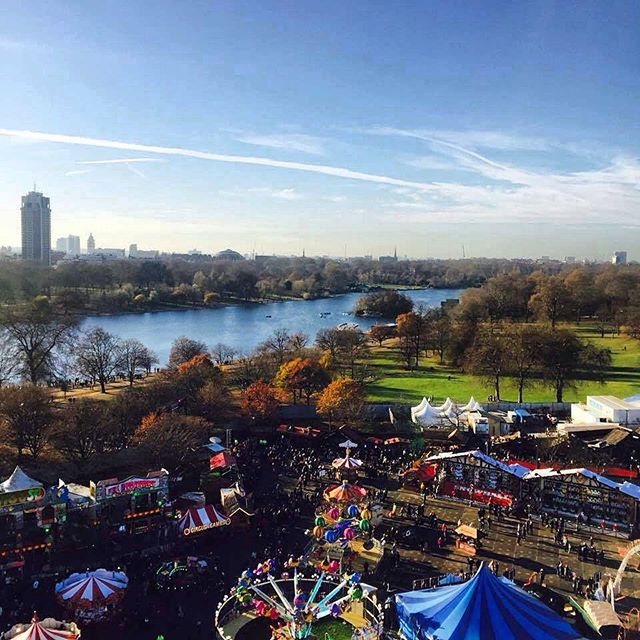 Christmas in London | Hyde Park Winter Wonderland