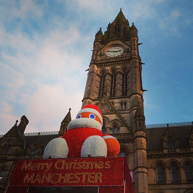 Father Christmas in Manchester
