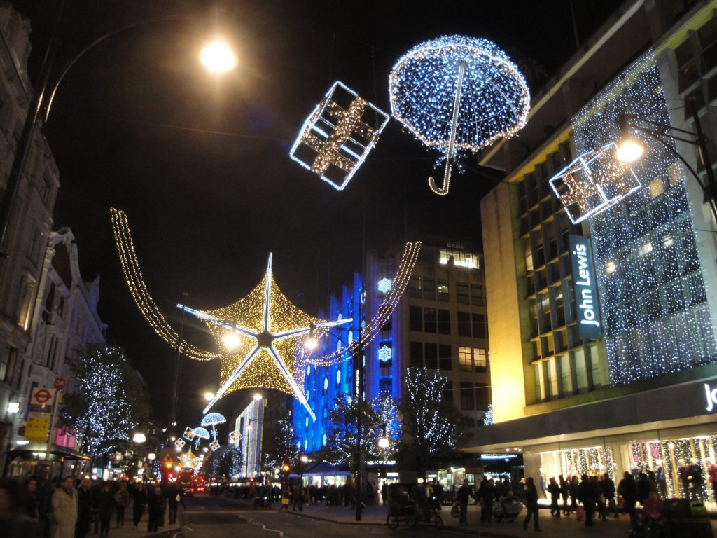 Christmas in London | Oxford Street