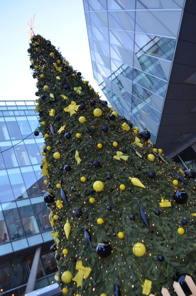 Christmas Tree in Manchester