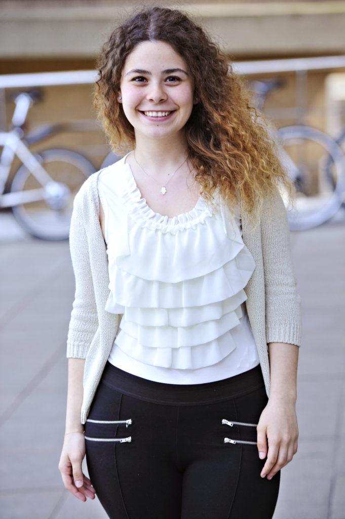 Gizem Kazanci studied an International Year One at INTO Newcastle University