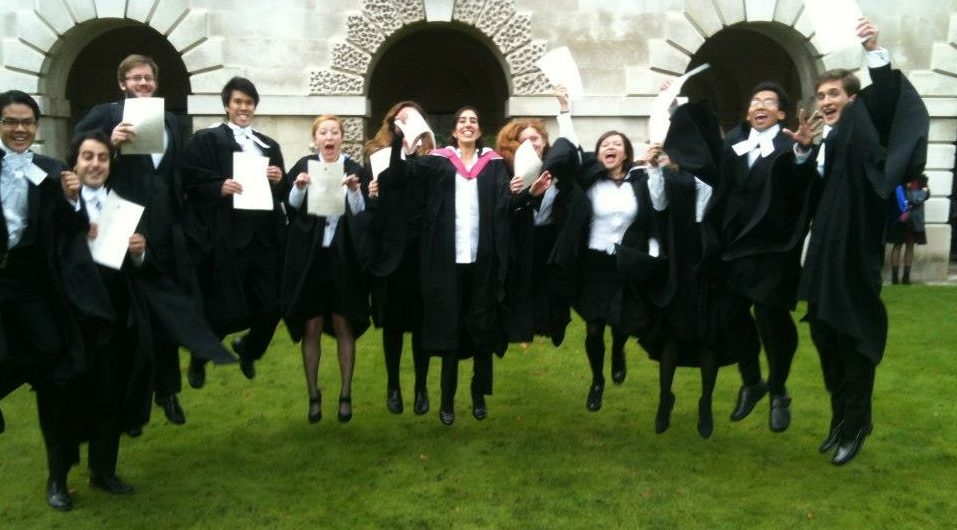 Master's from Cambridge
