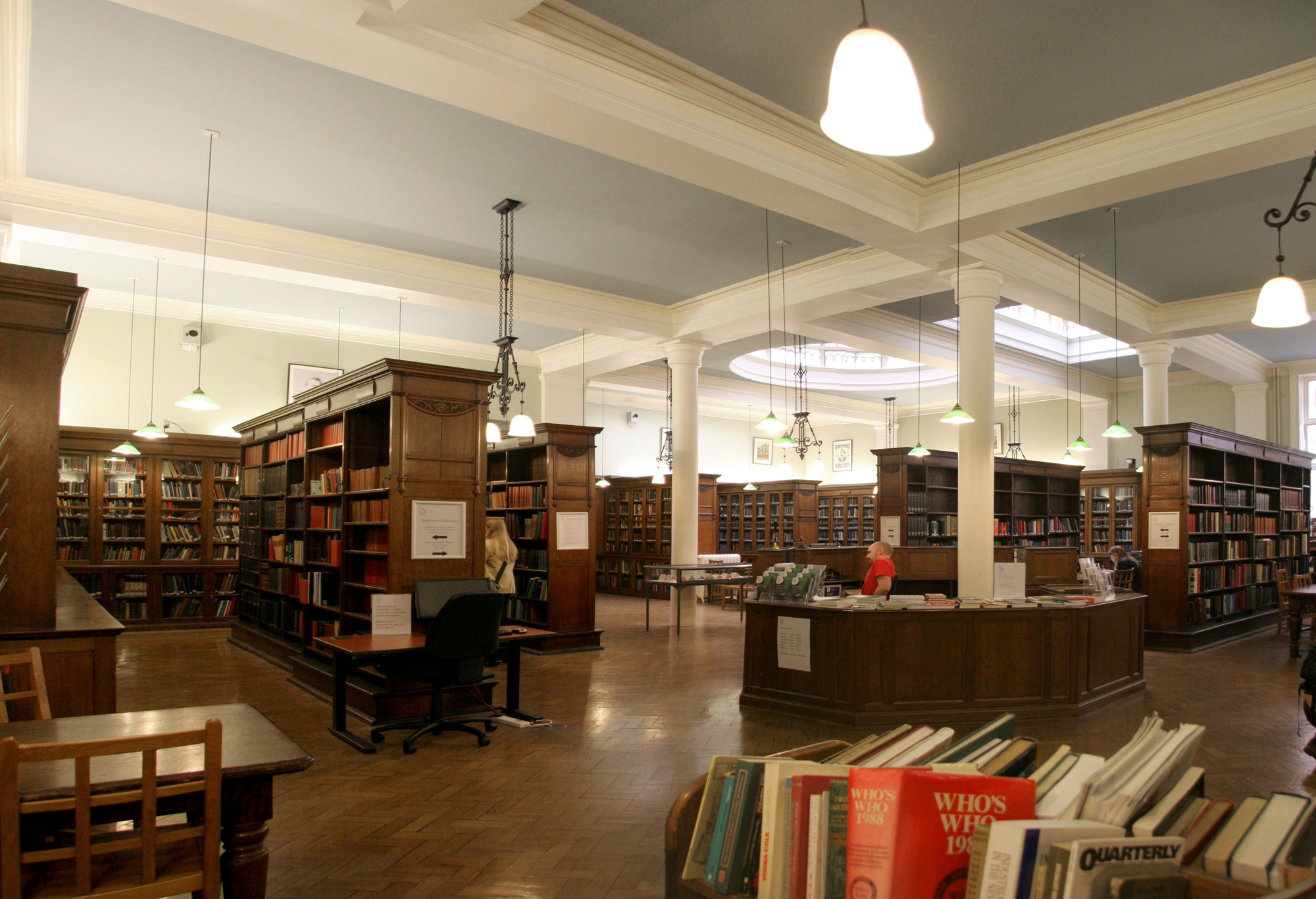 Public study rooms london