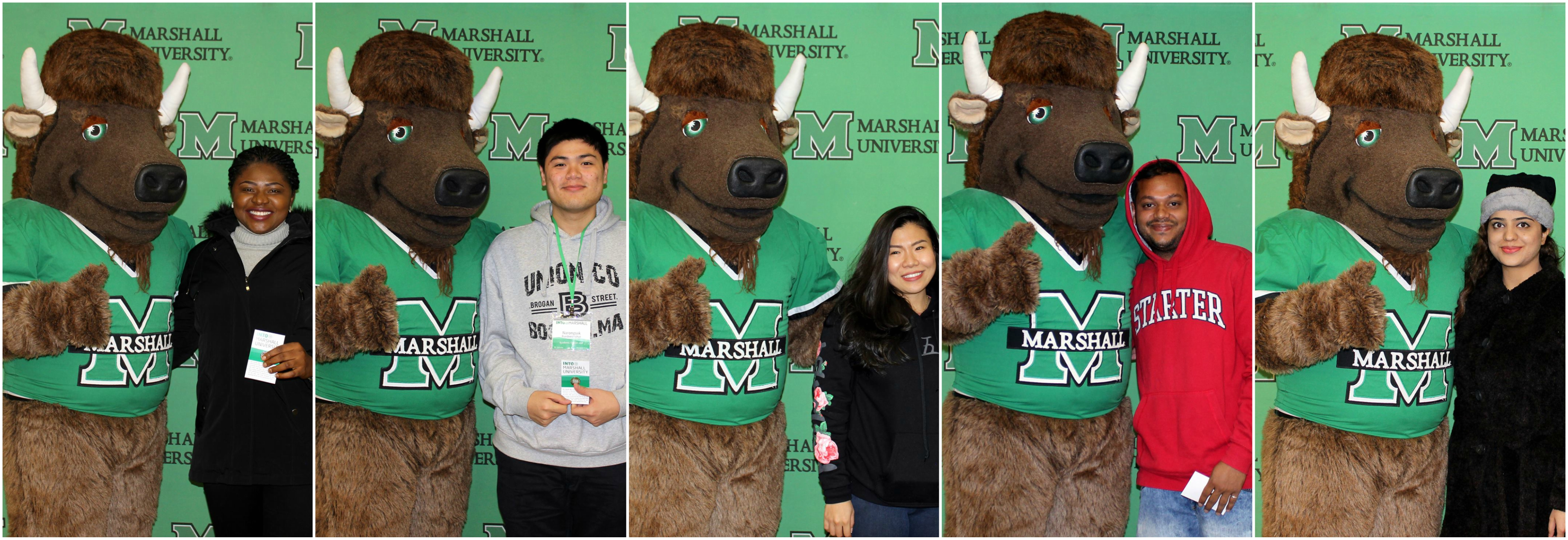 Meeting Marco, INTO Marshall University mascot