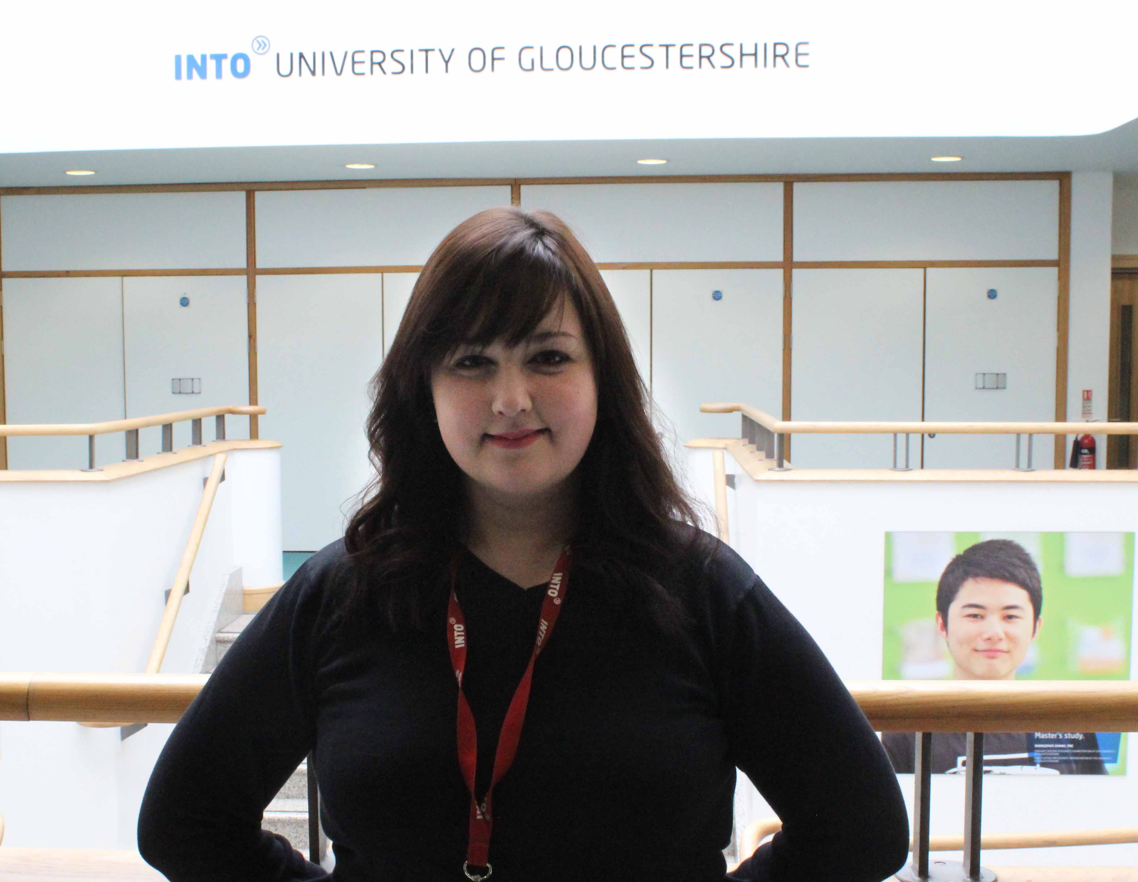 INTO University of Gloucestershire - Hannah Hudman - Student Experience Coordinator