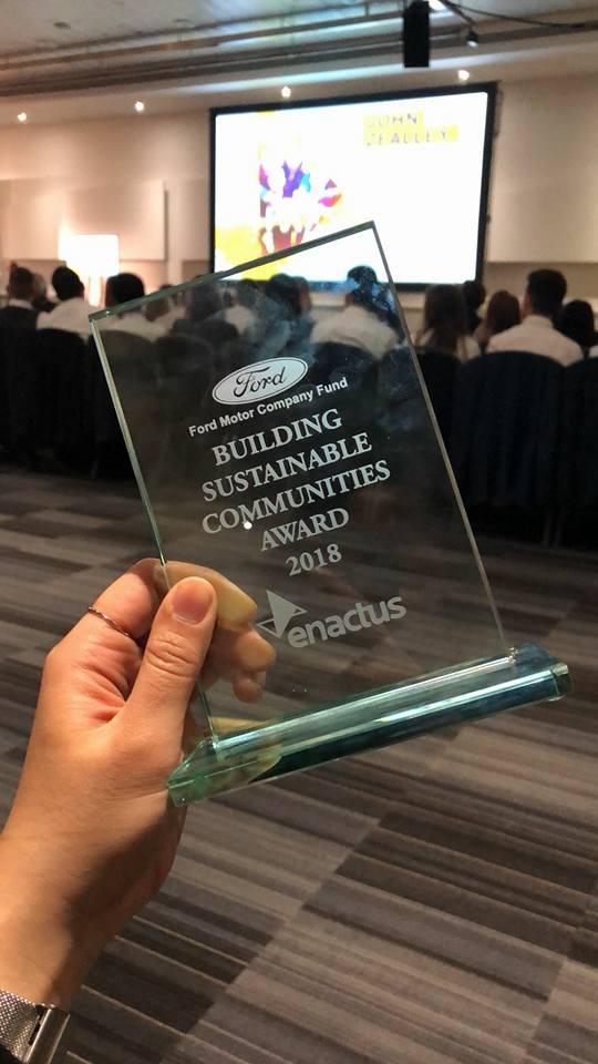 Enactus award Social Enterprise University of East Anglia