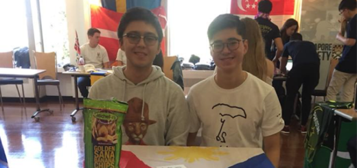 Lorenzo at a Freshers Fair - University societies blog featured