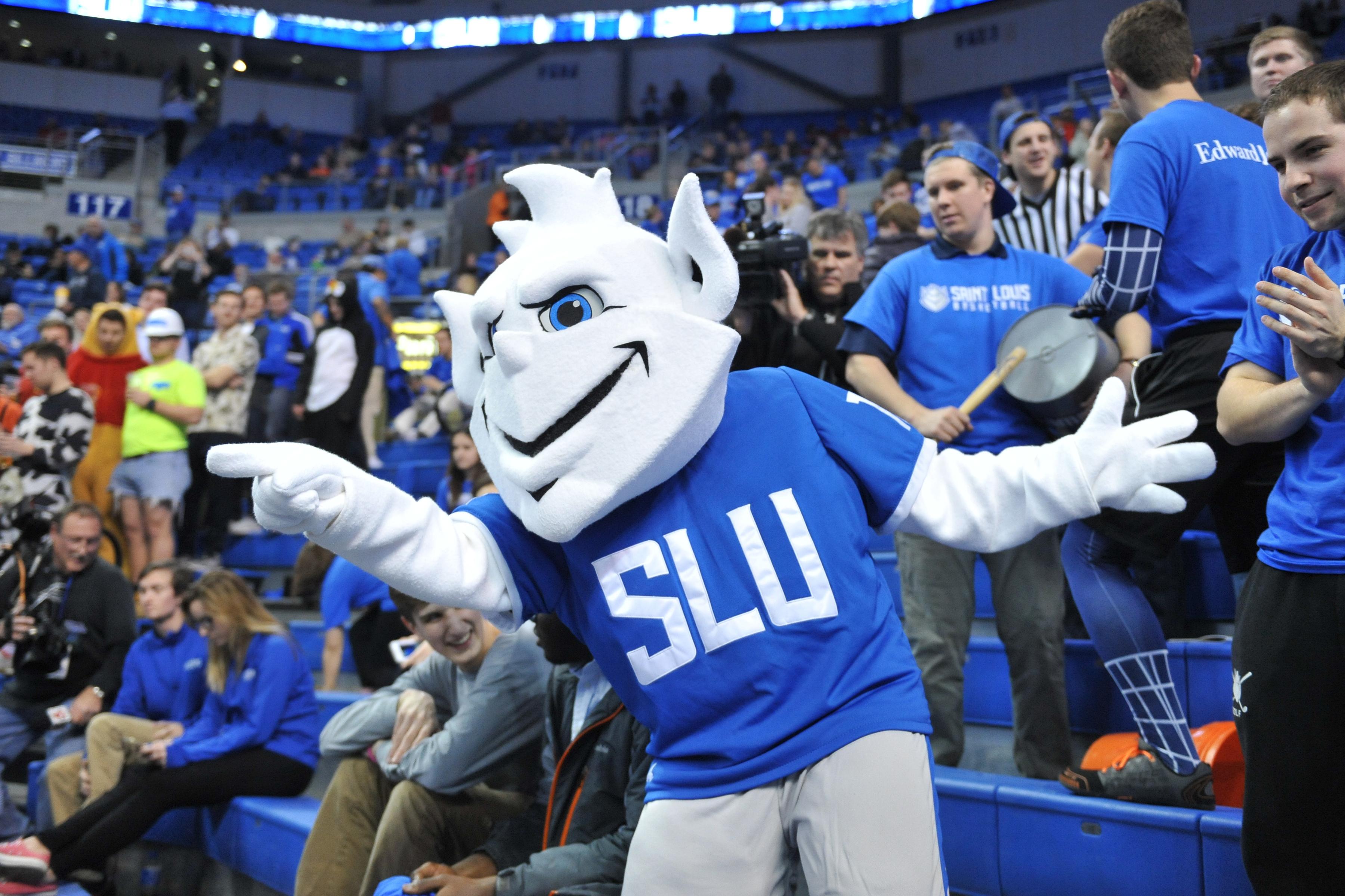 college mascots SLU Mascot