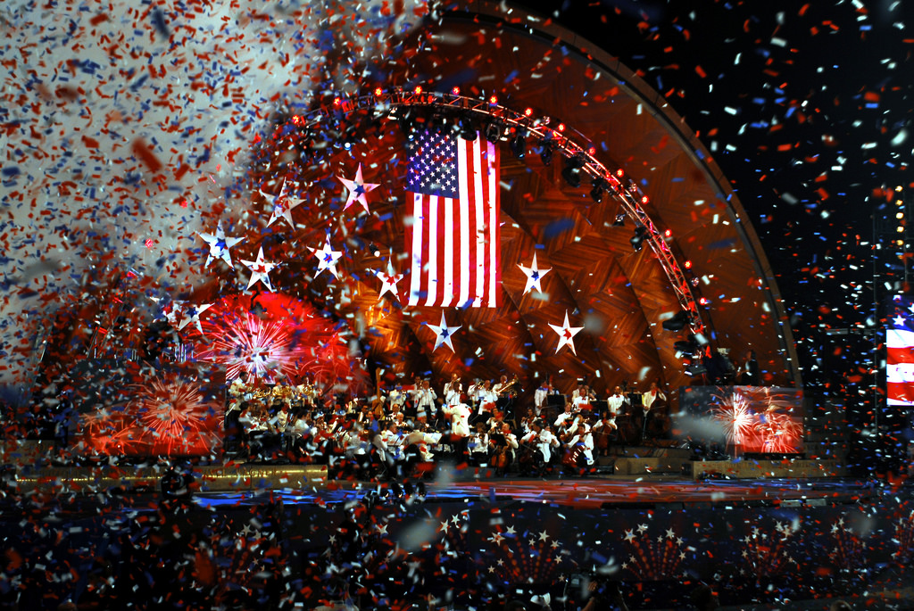 Things to do in the US as a student - celebrate the Fourth of July in Boston