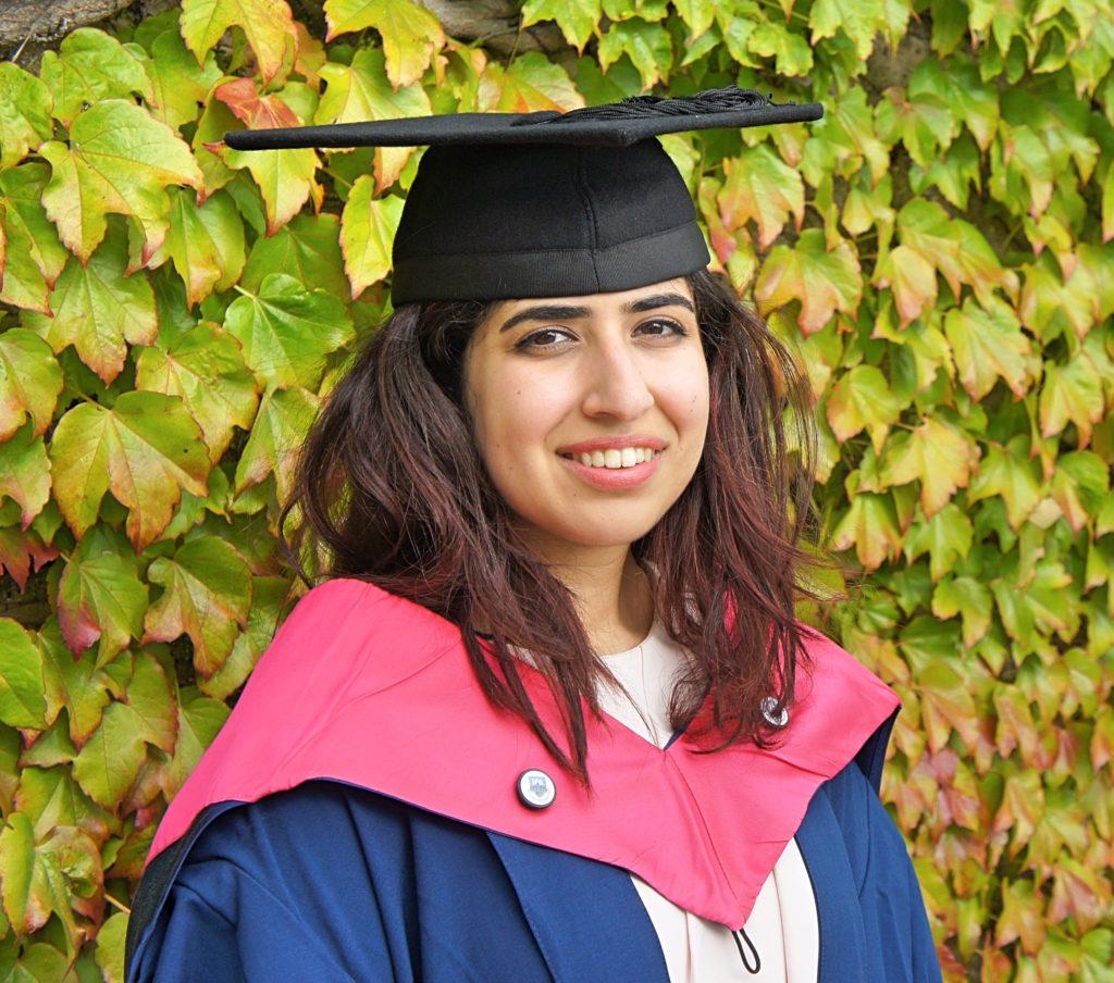 INTO-UEA-Umayma-study-law-graduation