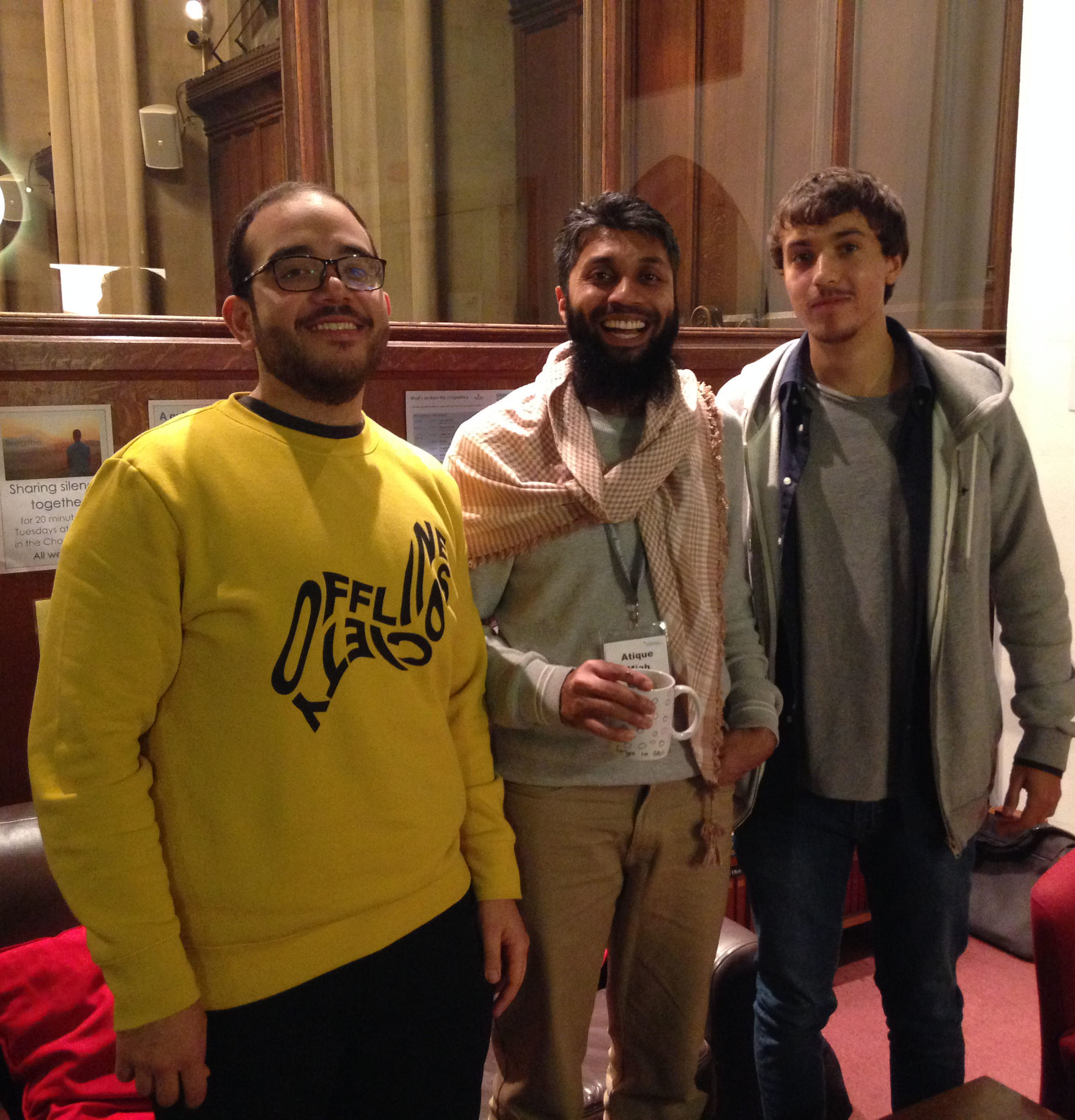 Yousef, Chaplain and friend