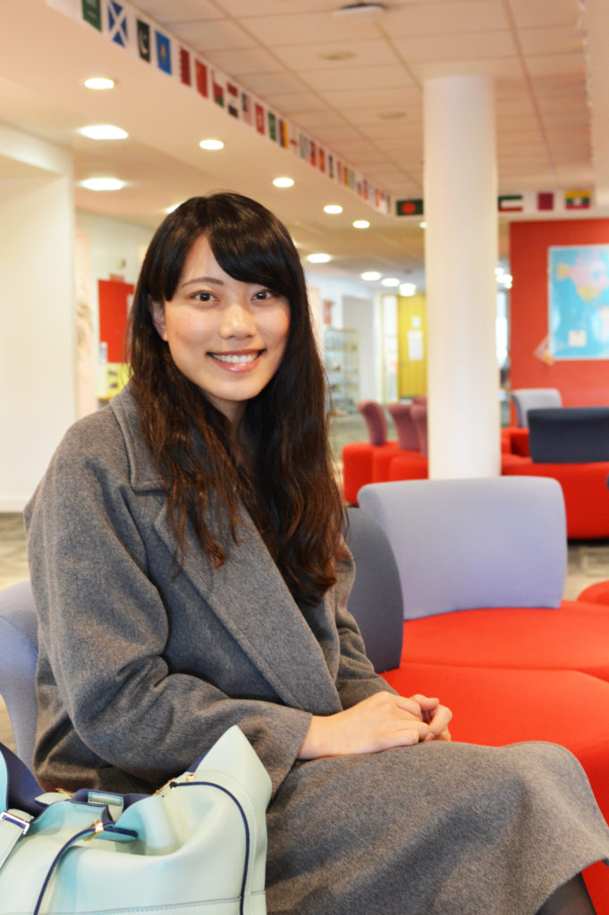 Mami from Japan studied Academic English at INTO Glasgow Caledonian University