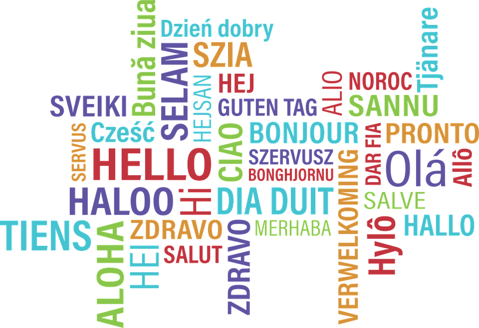 How to say hello in different languages - study abroad in London