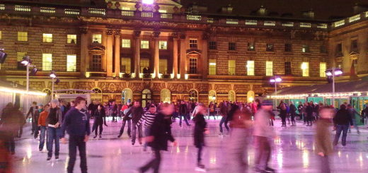 Somerset House Ice Skating Rink